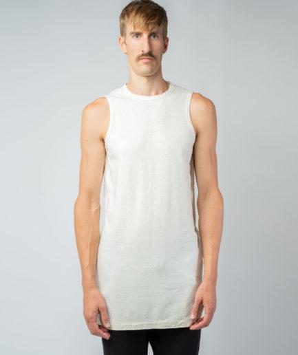 MAN unisex singlet tanktop hemp organic cotton MALIK Blank canvas front