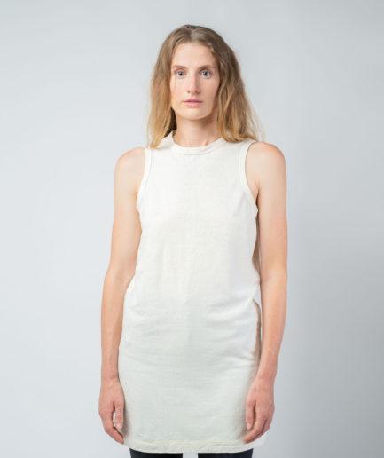 WOMAN unisex singlet tanktop hemp organic cotton MALIK Blank canvas front