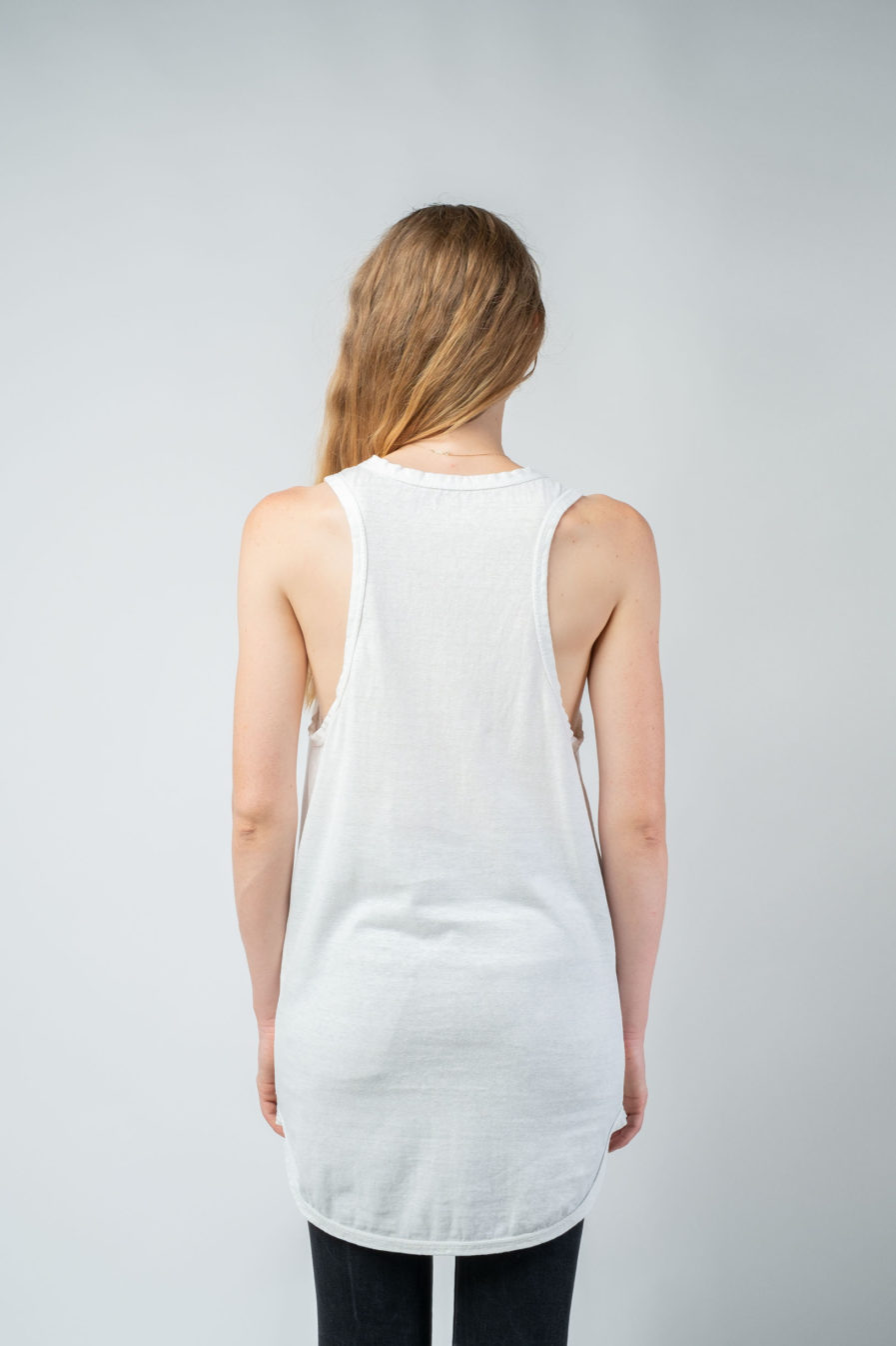 WOMAN unisex singlet tanktop hemp organic cotton OTIS new Blank canvas back