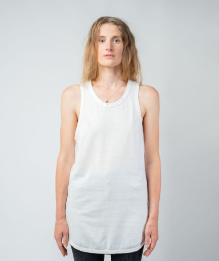 WOMAN unisex singlet tanktop hemp organic cotton OTIS new Blank canvas front