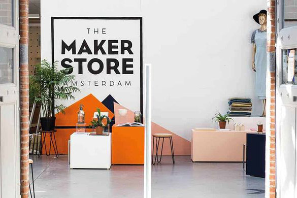 Hempje retailer The Maker Store Amsterdam